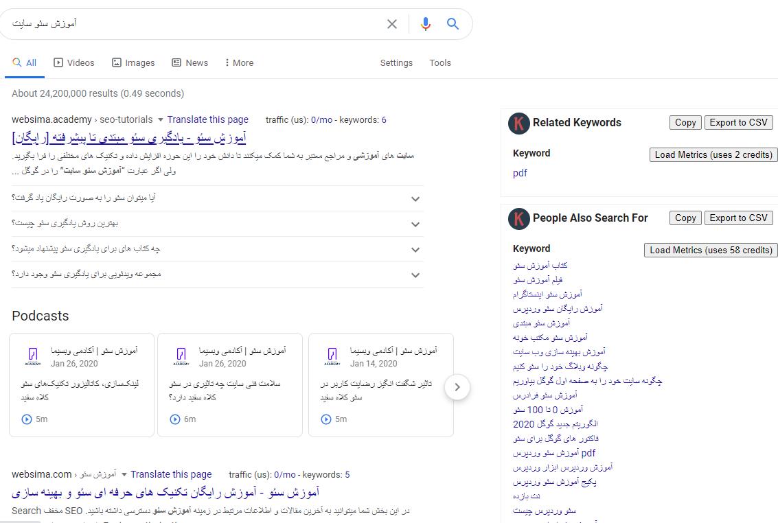 ابزار تشخیص کلمات کلیدی,ابزار جستجوی کلمات کلیدی,ابزار رایگان یافتن کلمات کلیدی