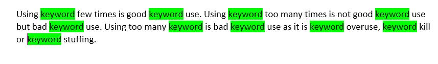 چگالی کلمه کلیدی,محاسبه چگالی کلمه کلیدی,چگالی کلمات کلیدی