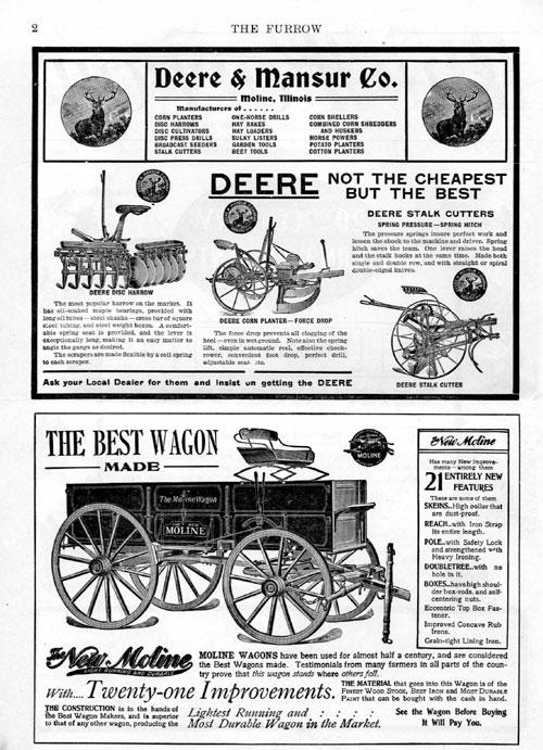 اولین مجله furrow