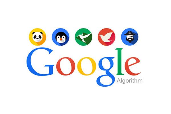 الگوریتم های گوگل